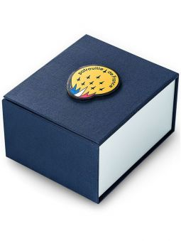 Montre homme Patrouille de France Athos 2 bracelet nylon vert kaki