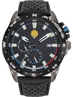 Montre homme Patrouille de France Athos 3 chronographe bracelet cuir