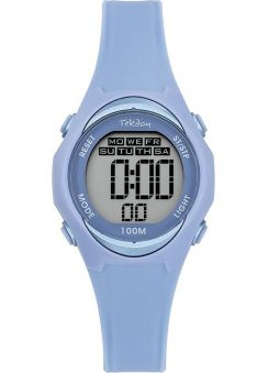 Montre enfant Tekday bleue digitale 654669