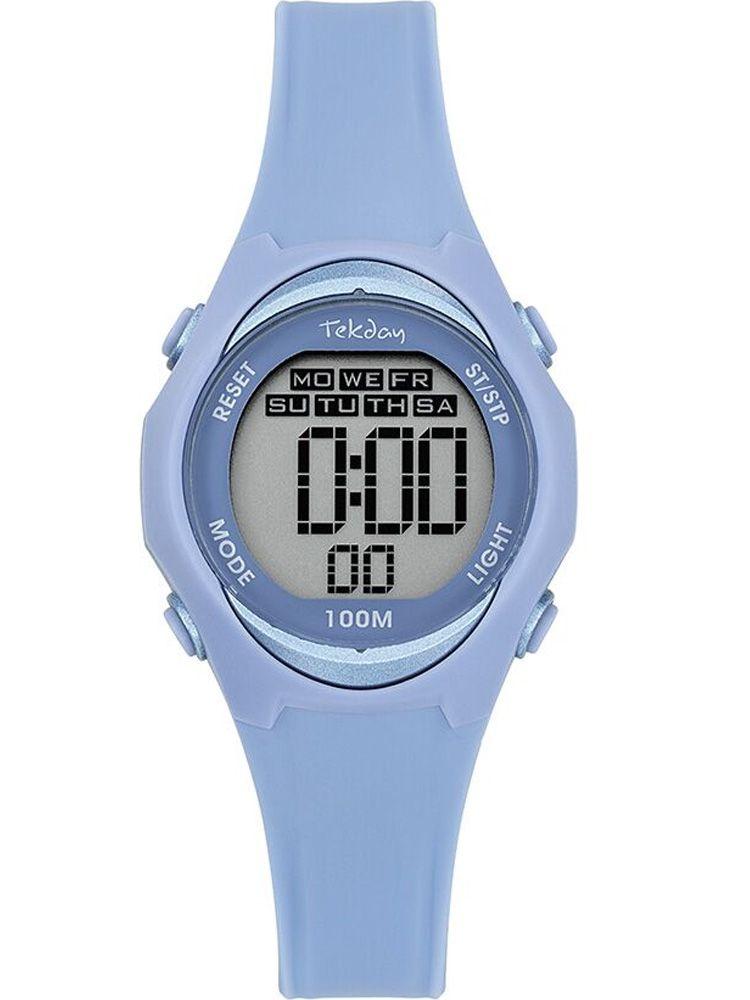 Montre enfant Tekday bleue digitale