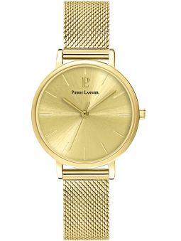 Montre femme Pierre Lannier acier dorée jaune