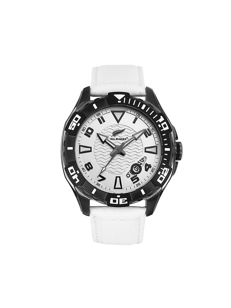 Montre All Blacks blanche étanche