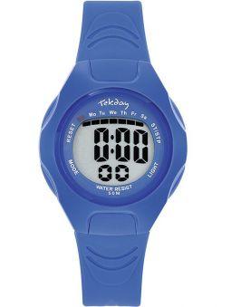 Montre enfant Tekday bleue et étanche 654664
