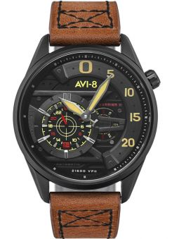 Montre homme AVI-8 HAWKER HARRIER II automatique Ace Of Spades