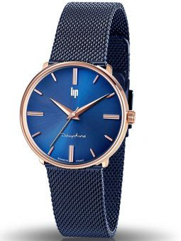 Montre LIP DAUPHINE métal bleu 671925