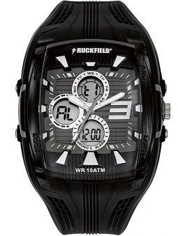 Montre homme Ruckfield multifonctions double affichage