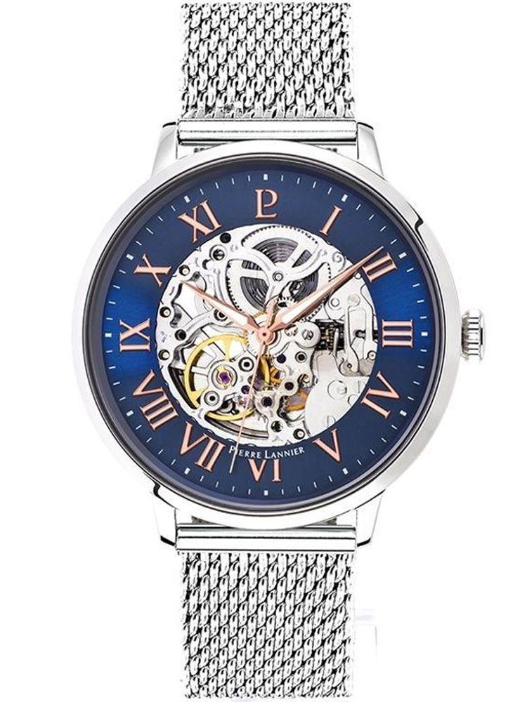 Montre homme Pierre Lannier automatique bracelet acier