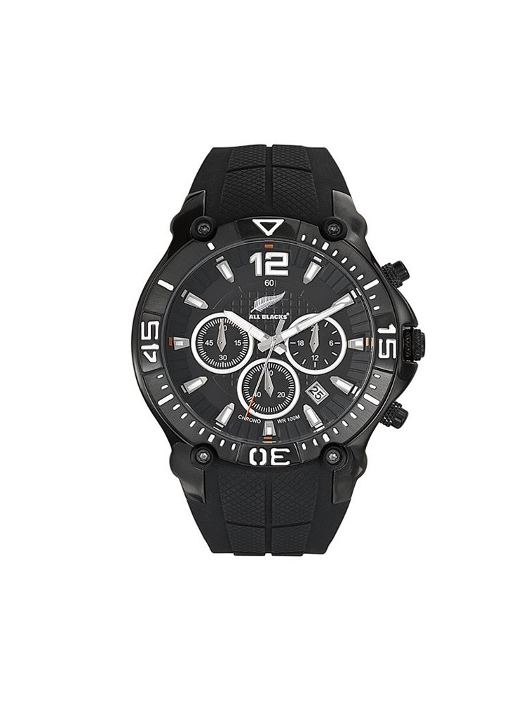 Montre All Blacks homme noire