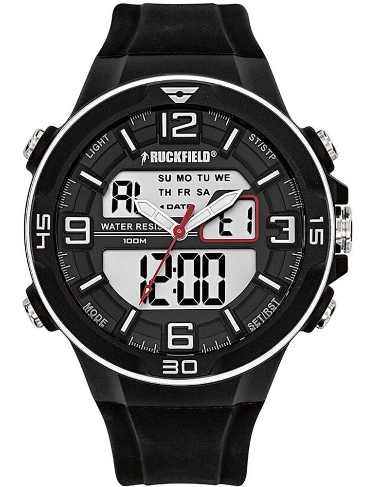 Montre homme Ruckfield double affichage
