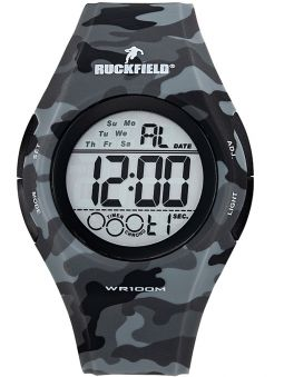 Montre homme Ruckfield militaire grise