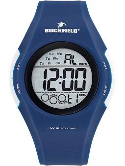 Montre homme Ruckfield acier sport bleue