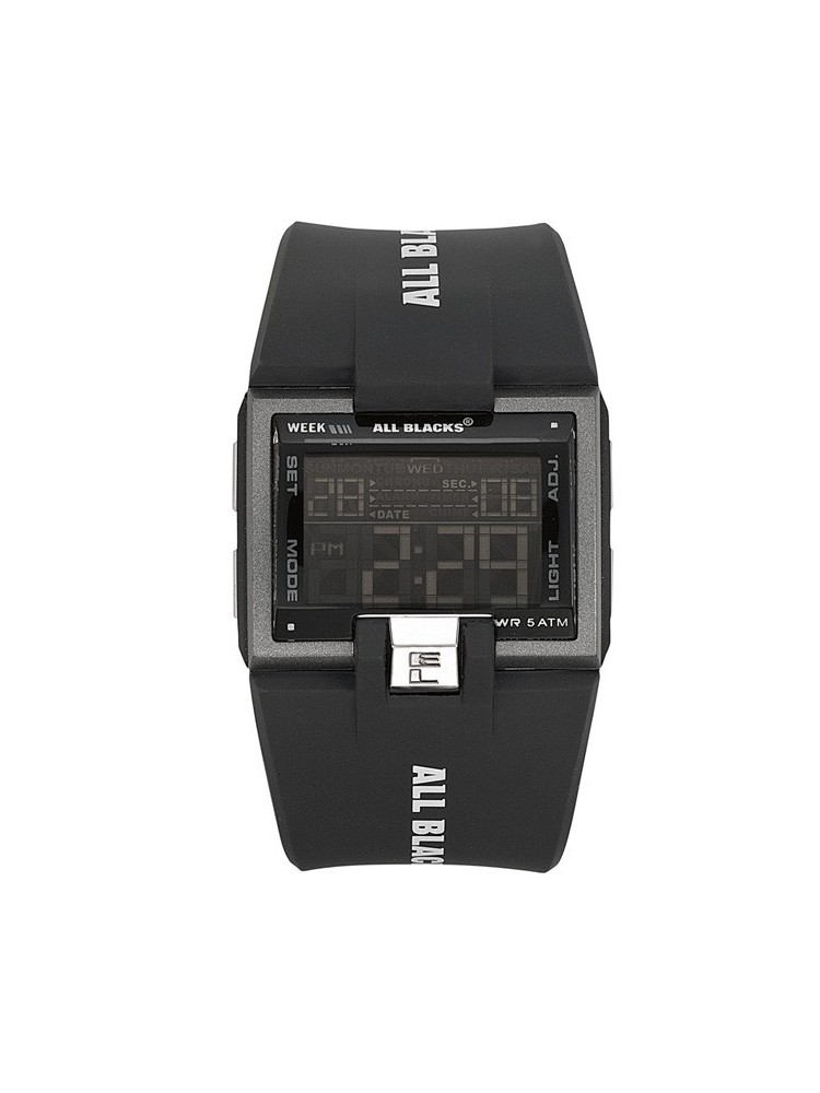 Montre All Blacks style futuriste
