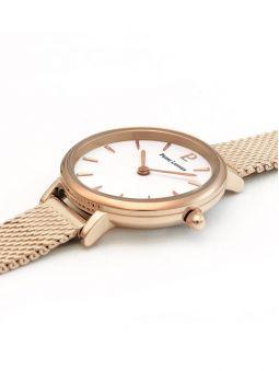Montre femme Pierre Lannier bracelet milanais rose fond nacré 014J928_2