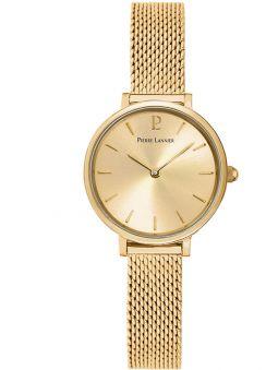 Coffret de montre Pierre Lannier Emma & Chloé dorée jaune et bracelet bijou 355C548_2