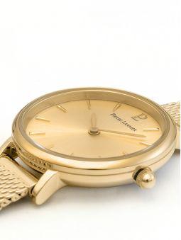 Coffret de montre Pierre Lannier Emma & Chloé dorée jaune et bracelet bijou 355C548_3