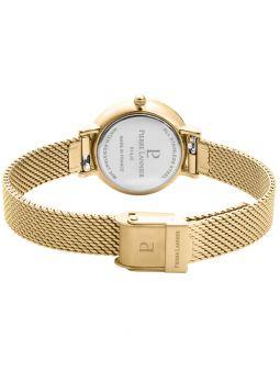 Coffret de montre Pierre Lannier Emma & Chloé dorée jaune et bracelet bijou 355C548_4
