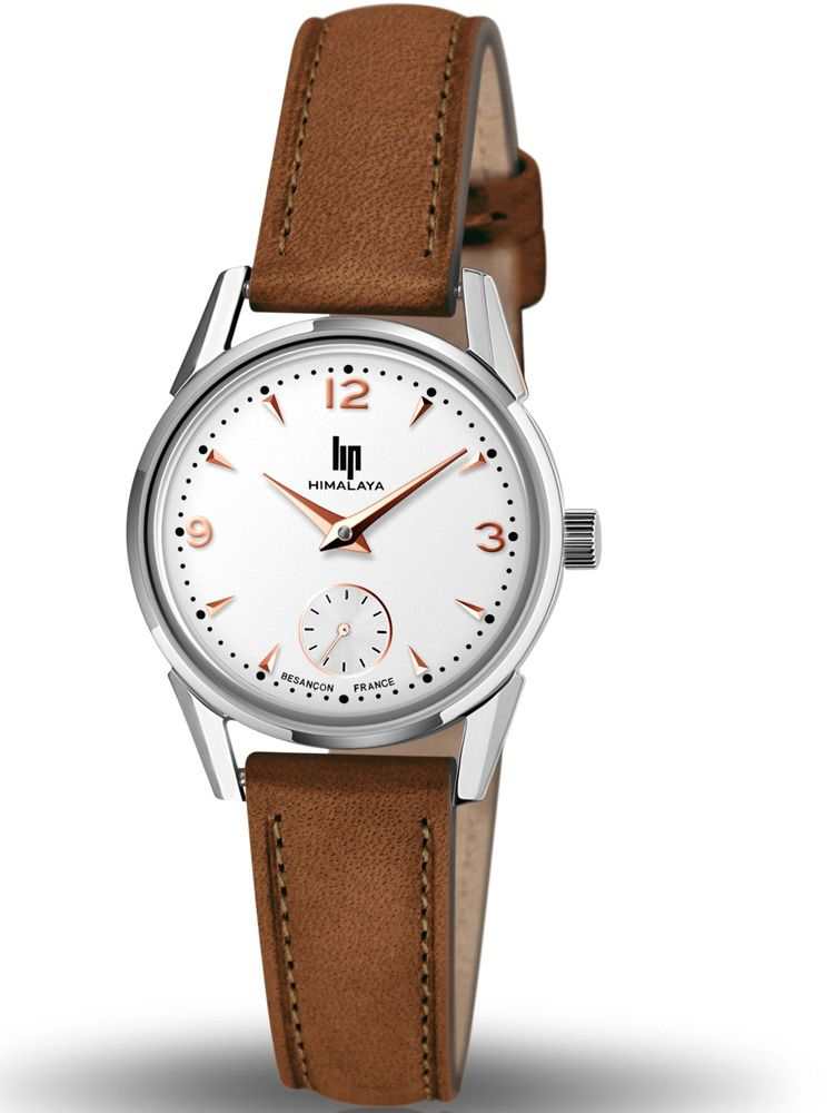 Montre LIP HIMALAYA cuir marron 671602