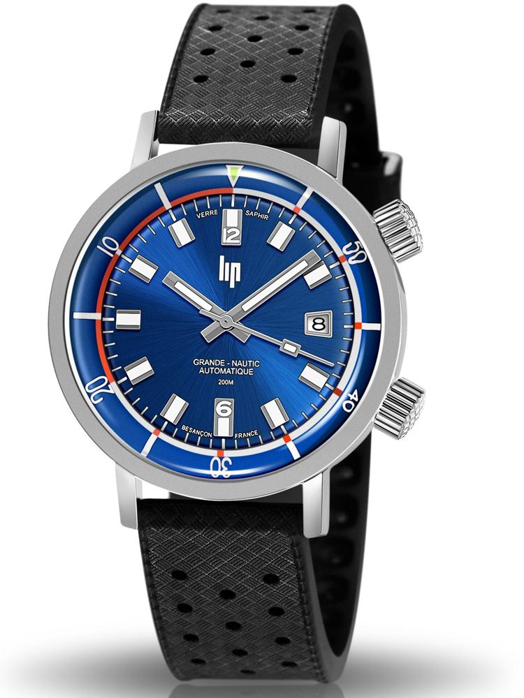Montre homme LIP Grande Nautic-Ski automatique 671521_1