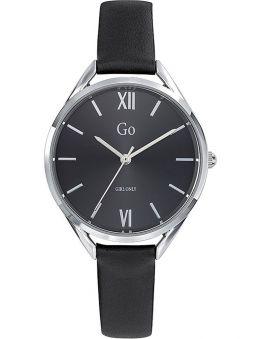 Montre GO Girl Only noir avec bracelet cuir
