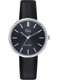Montre femme Go ronde bracelet noir 699317