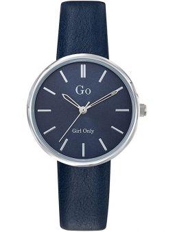 Montre femme Go ronde bracelet bleu 699316