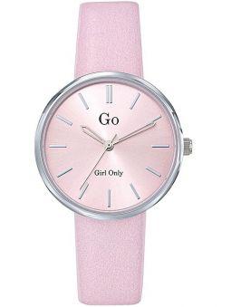 Montre femme Go ronde bracelet rose 699314