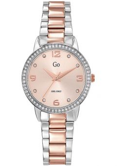 Montre GO Girl Only bicolore avec pierres 695304_1