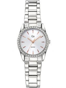 Montre femme Go bracelet tout métal fond blanc 695312_1
