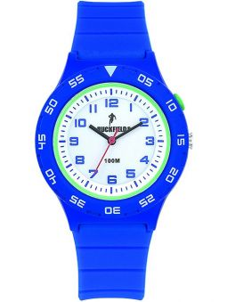 Montre homme Ruckfield bracelet silicone bleue 685090_1
