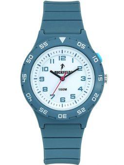 Montre Ruckfield bracelet silicone bleu clair 685091_1