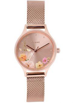 Montre femme Oui & Me minette 28 mm bracelet milanais doré rose ME010177_1