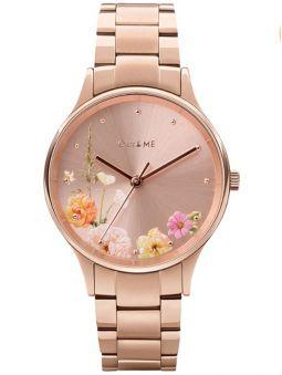 Montre femme Oui & Me petite bichette 32 mm bracelet acier doré rose ME010217_1