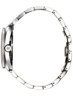 Montre LIP MARINIER GMT bracelet acier fond vert 671374_4