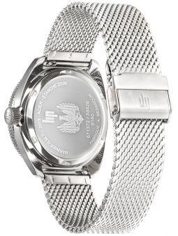 Montre LIP MARINIER GMT bracelet acier 671372_1
