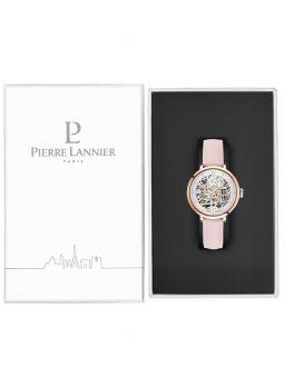 Montre femme Pierre Lannier automatique cuir rose 312B625_4
