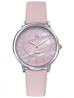 Montre Go for Girl Only rose clair bracelet cuir 699320