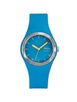 Montre turquoise et jaune Tekday