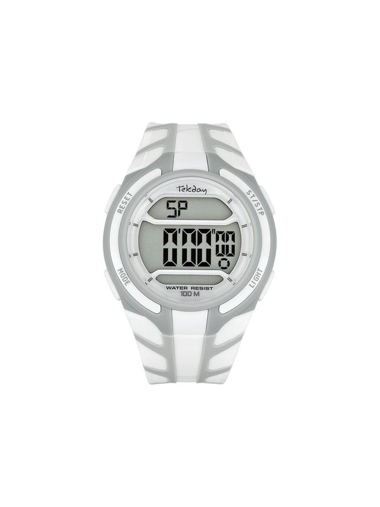 Montre sport blanche - Tekday 655768