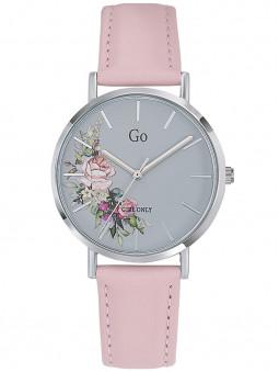 Montre Go fleurie rose pastel 699260