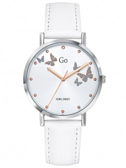 Montre Go for Girl Only blanc papillons 699346