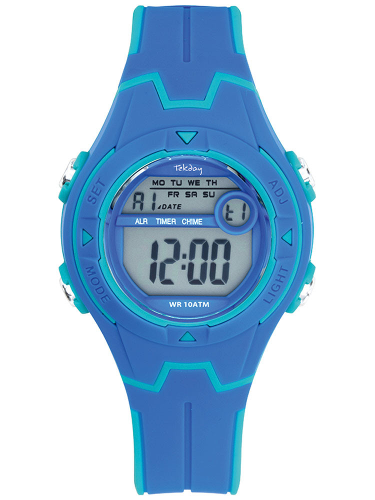 Montre bleue digitale sport Tekday 654688