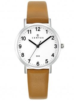 Montre femme Certus bracelet marron clair 6444444