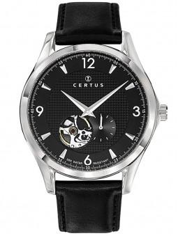Montre noire Certus coeur battant automatique 611160