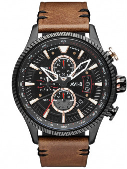 Montre Avi-8 Desert Brown Hawker Hunter AV-4064-06