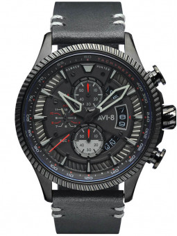 Montre Avi-8 Stealth Black Hawker Hunter AV-4064-05