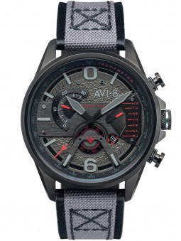 Montre Avi-8 Stealth Black Chronographe AV-4056-05