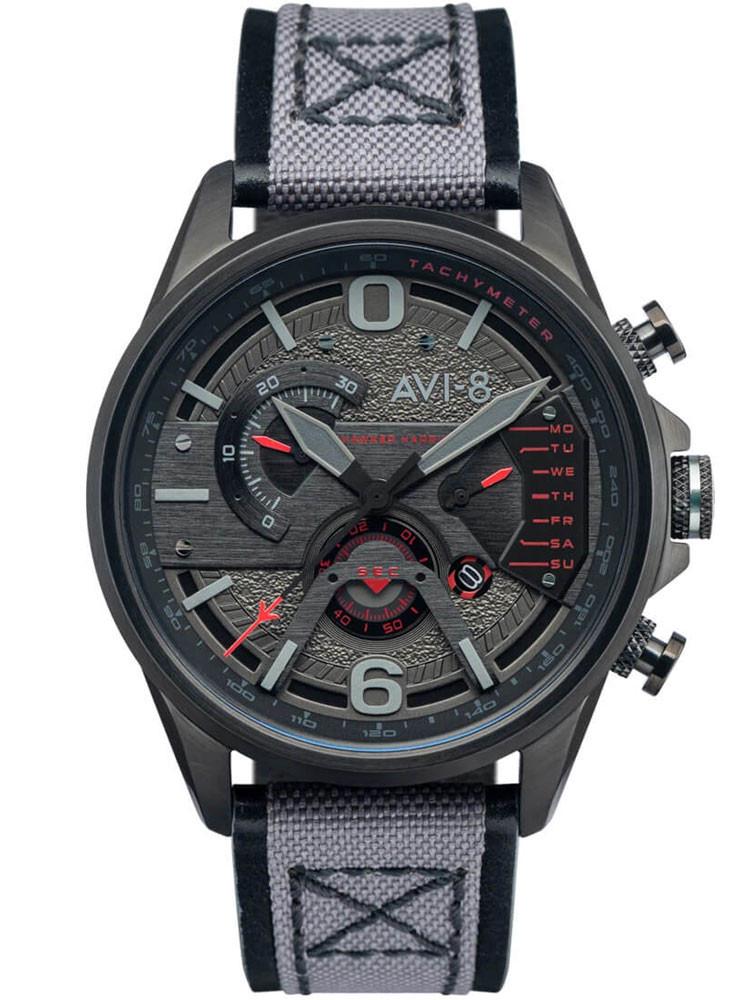 Montre Avi-8 Stealth Black Chronographe AV-4056-05