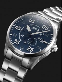 Présentation de la montre Avi-8 Oxford Blue Spitfire Automatique AV-4073-11