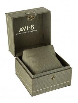 Ecrin pour montre Avi-8 Gunmetal Grey Spitfire Automatique AV-4073-44