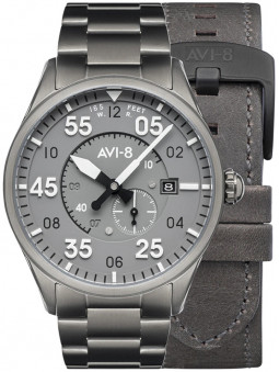 Montre Avi-8 Gunmetal Grey Spitfire Automatique AV-4073-44